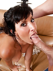 Horny milf fucks her friends husband
