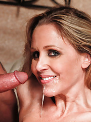 Julia Ann sucks on her neighbor