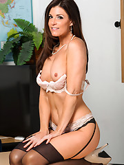 Hot teacher India Summer meets with her student then fucks him on her desk.