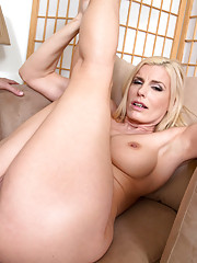Hot blonde mom Darryl Hannah fucks and loves to be fucked by younger cock.