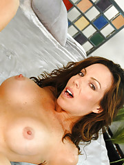 Gorgeous MILF Paige Rene fucks younger cock and loves the pounding her pussy takes.