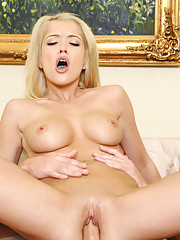 Tiffany Fox has hot sex with her friends boyfriend while her friend is out running an errand.
