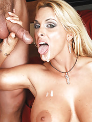 Busty MILF Holly Halston has hot sex with her sons friend and rides his cock.