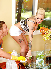 Christy Mack comes over and decides to get fucked by her friends husband and his big cock.