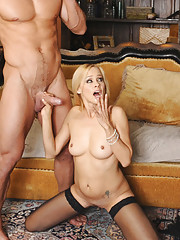 Payton Leigh decides to fuck her sons friend and ride his big cock.