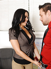 Luna Star has hot sex at work and takes a good fucking.