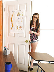 Summer Rae is a horny student who has to fuck her way out of a bad situation.