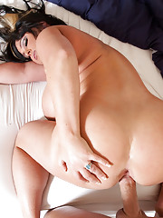 Indianna Jaymes rides a big hard cock