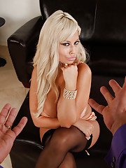 Bridgette B cheats on her husband with a big hard dick in her mouth