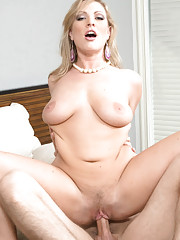 Vicky Vixen decides she wants to fuck a younger cock.
