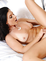 Gorgeous babe India Summer decides to fuck her boyfriends son and ride his thick cock.
