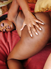 Layton Benton is a sexy black girl who decides to sleep with her boyfriends son and ride his big cock.