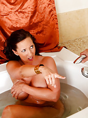 Kelly Divine spreads her hot ass cheeks for some big cock