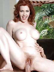 Mae Victoria is a hot and horny MILF ready to suck and be fucked by big cock.