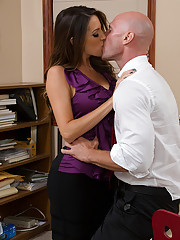 Kortney Kane has hot sex with her big cocked worker and loves getting fucked by his cock.