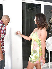 Persia Monir is horny for some big cock in her tight pussy.