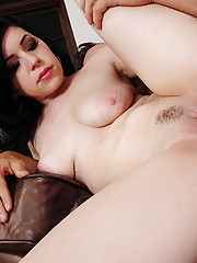 Belle Noire has hot sex with her friends brother and rides his cock.
