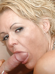 Kelly Leigh has hot sex with guy who is friends with her son.