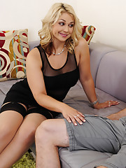 Sarah Vandella makes married guy fuck her tight pussy.