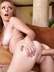 Sam Summers is a hot and horny girls who fucks her friends brother to have hot orgasm.