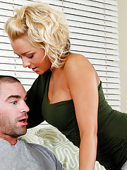 Gorgeous blonde Briana Blair loves the cock