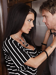 Hot Jessica Jaymes sleeps with her friends big cocked husband.
