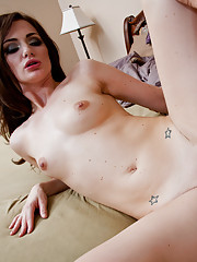Sexy Young Lily carter fucks and sucks a hard cock.