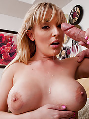 Tristyn Kennedy fucks and sucks a big cock.