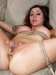 Princess Donna and Jordan Ash in extreme rough bondage sex role play!