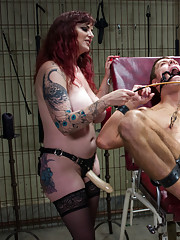 Mz Berlin runs a casting call on new slaves, little do they know they are put on the spot, lights, camera, action!