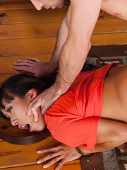 Bust Asian Prisoner Ass Fucked in Bondage at a Slave Ranch.