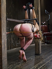 Brutal Devices, Heavy Impact, Uncontrollable Orgasms!!! Single tails, caning, floggers, clamps, and more are used to devastate this whore!