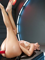 MILFY HOTTNESS -India Summer takes the machines & shoves them! She don