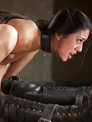 Spare the crop and ruin the Bad Girl. We will train this defective pussy back into a proper slave.