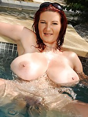 Granny in Pool