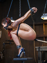 Skin is turned into a fuck doll, tormented, bound in brutal bondage, and suffering for your pleasure.