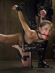 Pussy torture, extreme bondage, bastinado, pussy fucking, ass fucking, nipple torture, breath control, uncontrollable orgasms!!