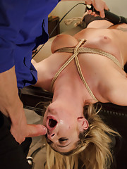 When room service delivers a gorgeous kinky fetish maid to an exhausted business man