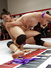 Crowd explodes as one team comes from behind during the wrestling rounds then make losers cum from behind in round 4