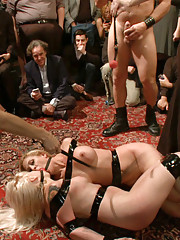 Pretty presents make for a happy Princess! 2 blonde playthings pitted against each other in devious games.