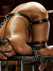 Taken to her breaking point and machine fucked in strict devices.