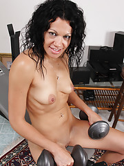 Young Brunette Pussy