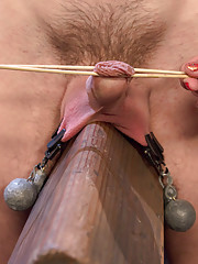 Bratty domme cuckolds boy toy with a big cock then fucks his ass and makes him suck cock!