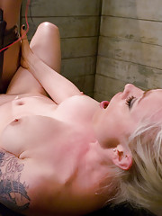 Riley Shy is shocked with electricity by Lorelei Lee