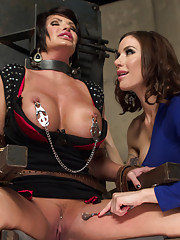 Super MILF reprogrammed by gorgeous lezdom and made to be a pussy licking, ass licking strap-on fucking punishment slut!