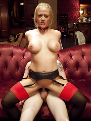 Two Hot Submissive MILFs double team one dick on the web