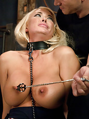 Summer Brielle in rough sex and bondage