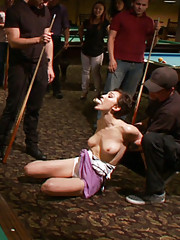 Sloppy whore Lily LaBeau shows up late and JP and Isis aren