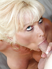 Mature lady Nikki jack off her daughters husband