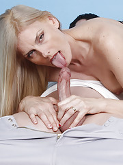 Hot step mom Darryl Hanah jerking off her step son